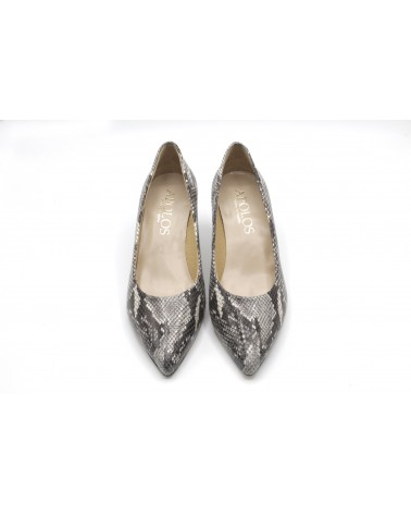 Zapato salón pitón