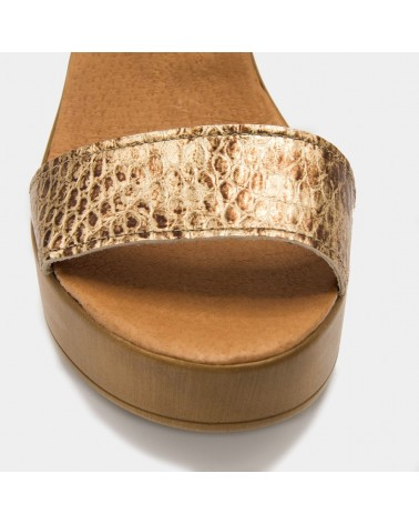 Brown high heel sandal