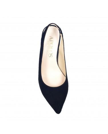 Shoe lounge with no heels black