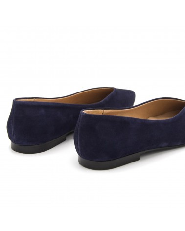 Marine Flat shoe