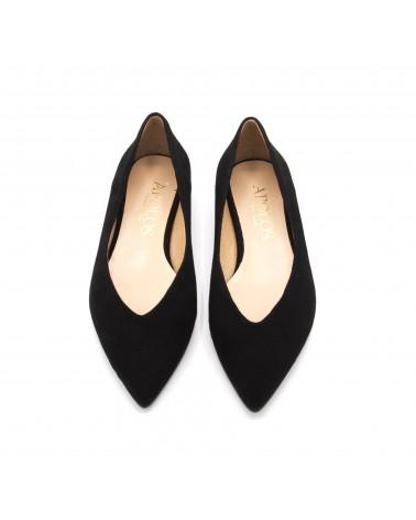Black Flat shoe