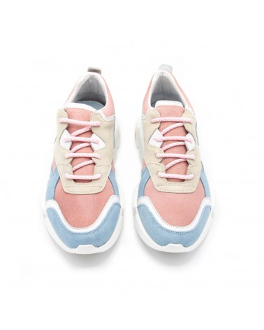 Pink/Blue sport casual shoe
