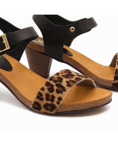 sandalia leopardo