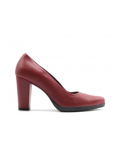 Zapato salón rojo