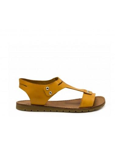 Sandalia color safran