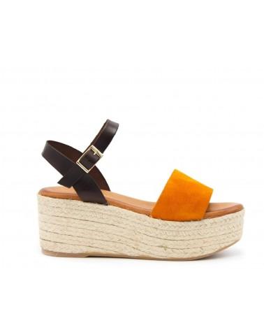 Sparto Sandal orange