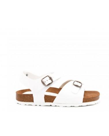 sandalia unisex blanco