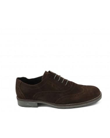 Zapato estilo inglés marrón