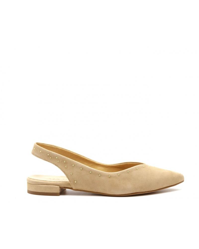 zapato ante beige