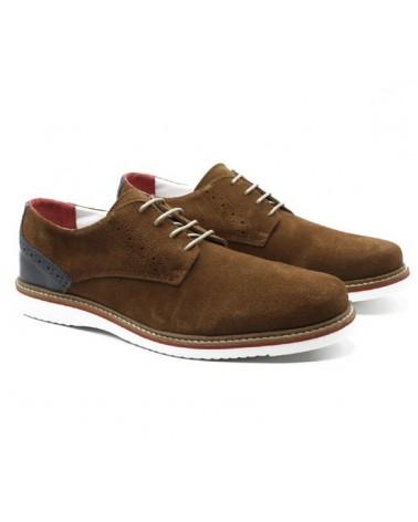 Zapato Oxford camel