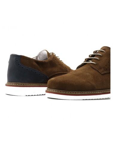 Camel Oxford shoe